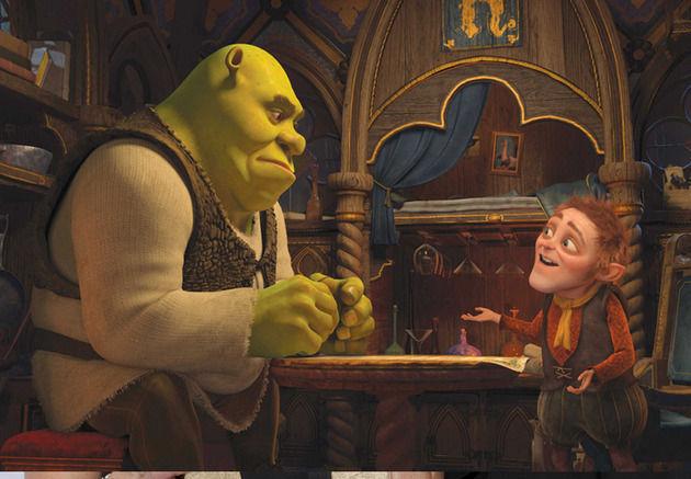 ¿Porqué Shrek firma el contrato con Rumpelstiltskin en la 4° película?