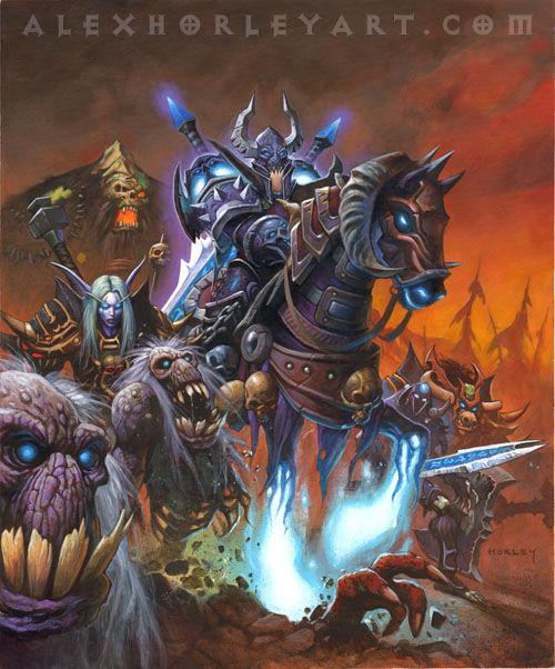 Darion, señor de los caballeros de la muerte traicionados por Arthas, se une a la lucha. ¿Quién era su padre?