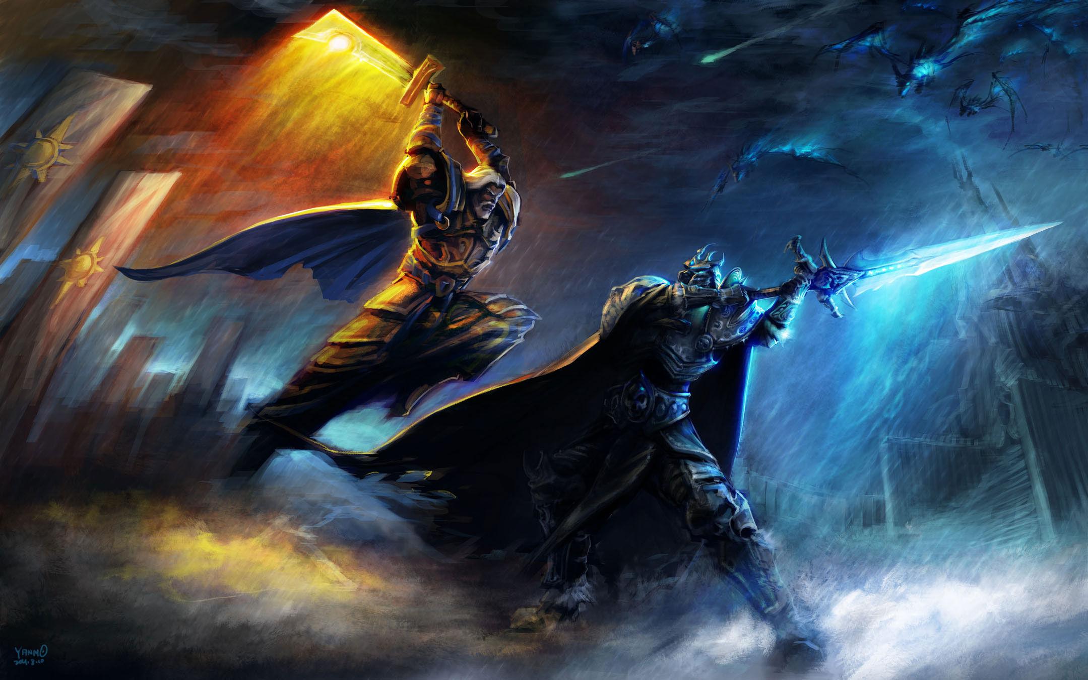 ¿Cuál era el tenebroso plan de Arthas, el cual llevo a cabo en su lucha final contra Tirion y los campeones?