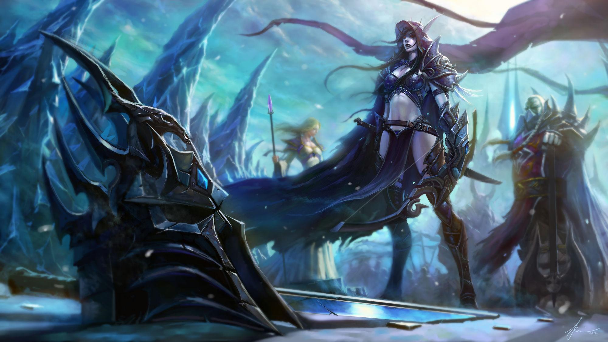 Tirion destruye Frostmourne, Arthas muere y Terenas II revive a los campeones pero, ¿qué es lo que ocurre después?