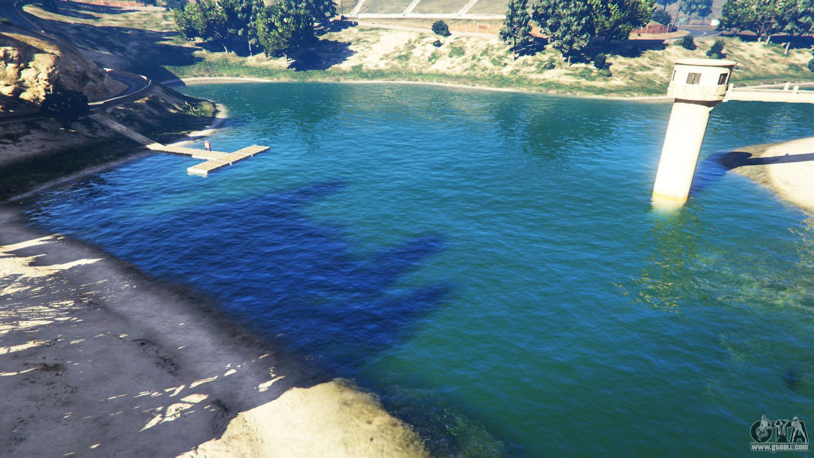 ¿Cuántos lagos existen en el mapa del GTA V?
