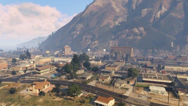 ¿Cómo se llama el pueblo que esta al norte del mapa del GTA V?
