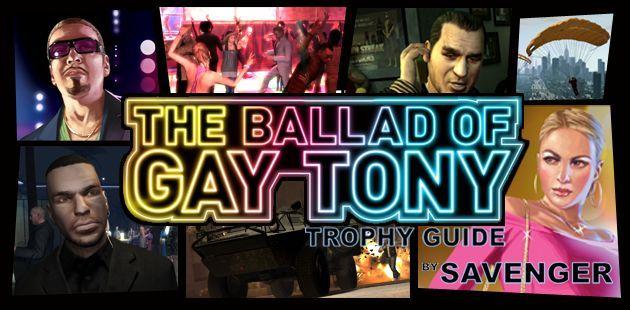 ¿En qué año salió al mercado el GTA the ballad of the gay tony?