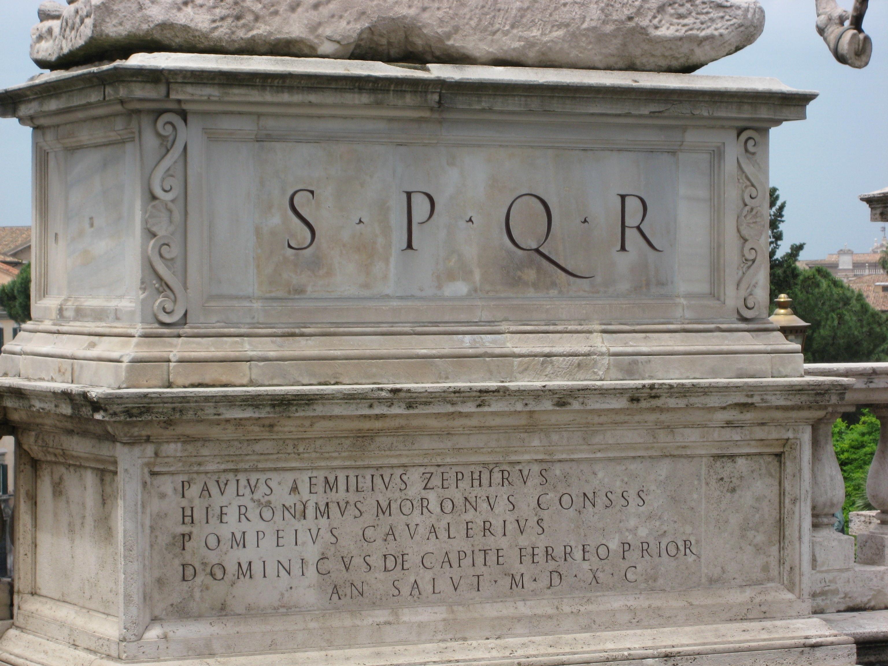 ¿Qué significa el famoso lema del Estado romano