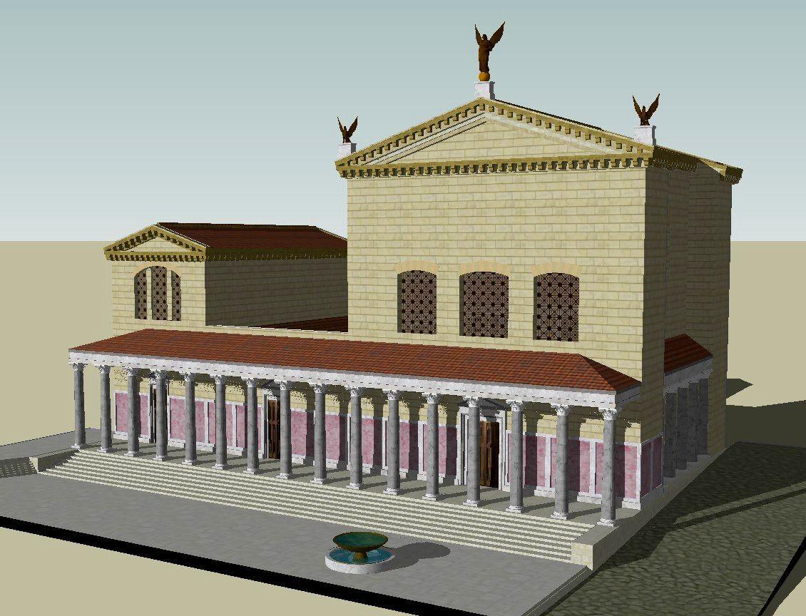 ¿Cuál era en época imperial el edificio donde se solía reunir el Senado?