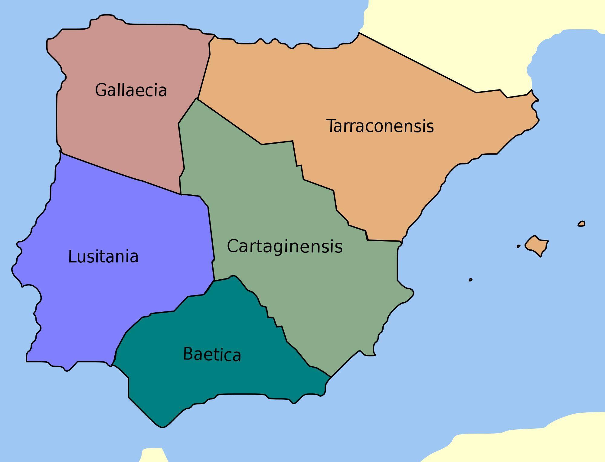 ¿Cuál era el nombre de la península Ibérica en latín?