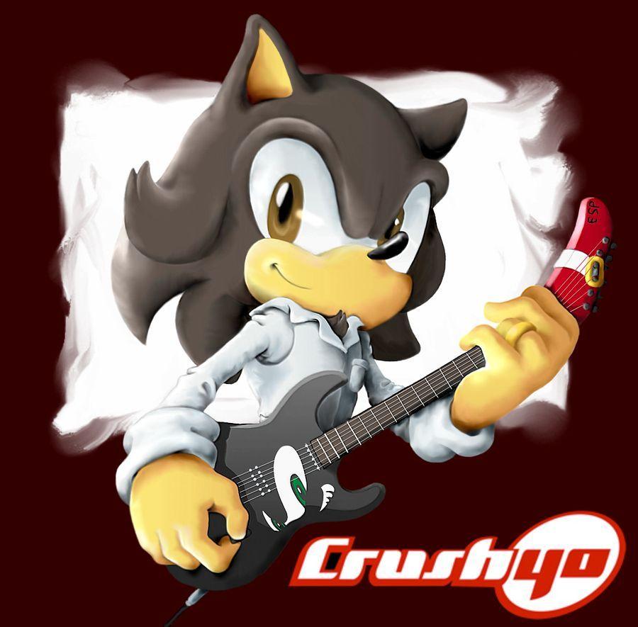 Una de las cuatro personas que aparecen a continuación no forma parte de los miembros de la banda Crush 40.  ¿Cuál es?