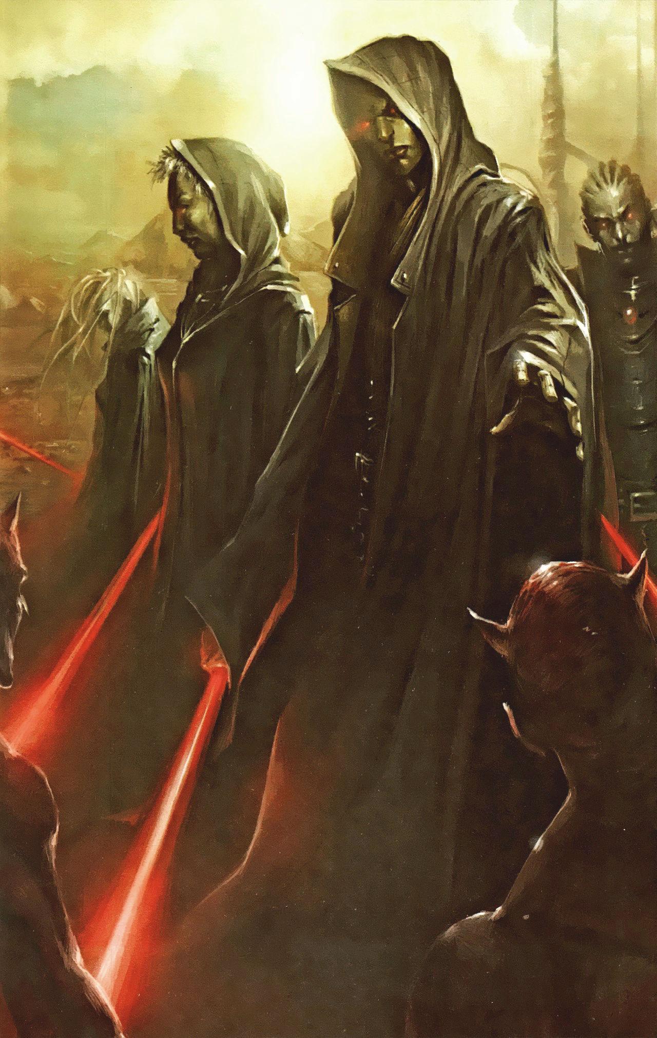 ¿Cuando surgen los Sith como usuarios del lado oscuro por primera vez?