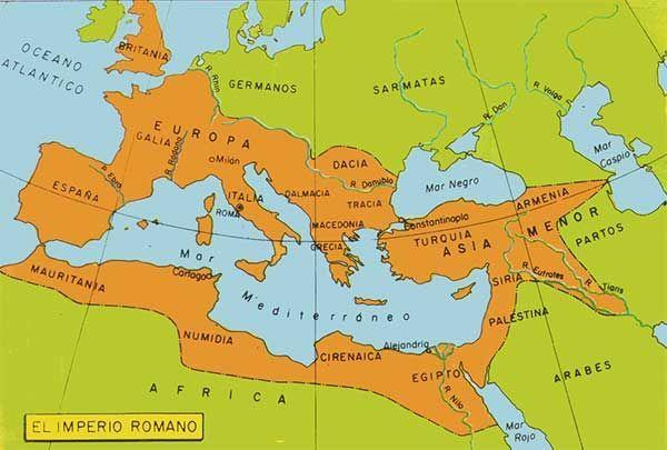 ¿Qué dos fechas simbolizan la caída del imperio romano?