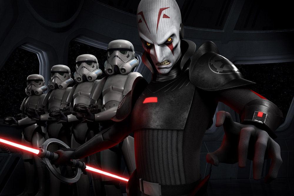 La función de los inquisidores del imperio era...
