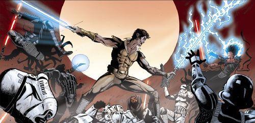 ¿Qué batalla destruiría la nueva orden jedi tras la Batalla de Yavin?