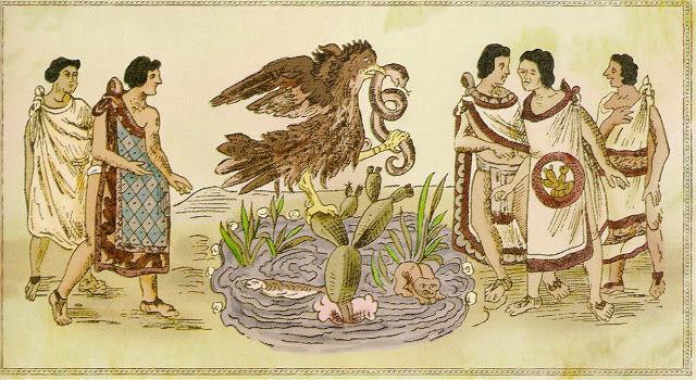 Los mexicas peregrinaron por mucho tiempo buscando la tierra prometida. ¿Cómo supieron que habían llegado?