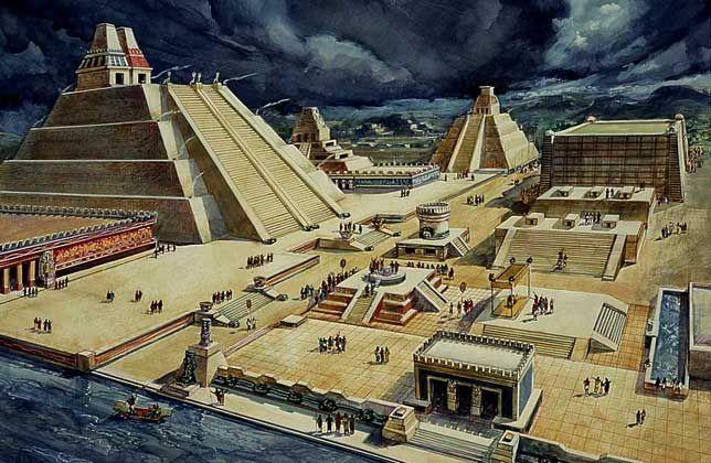 ¿A qué dioses estaba dedicado el Templo Mayor?