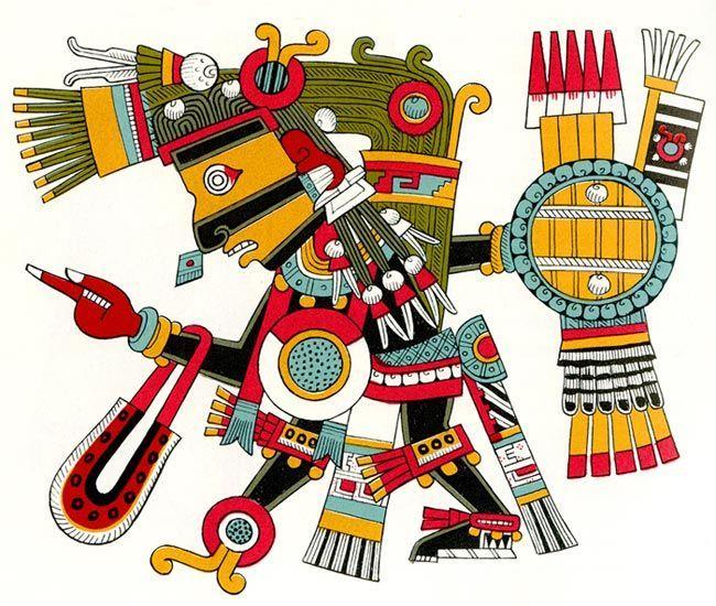 ¿Qué quiere decir el nombre de Tezcatlipoca?