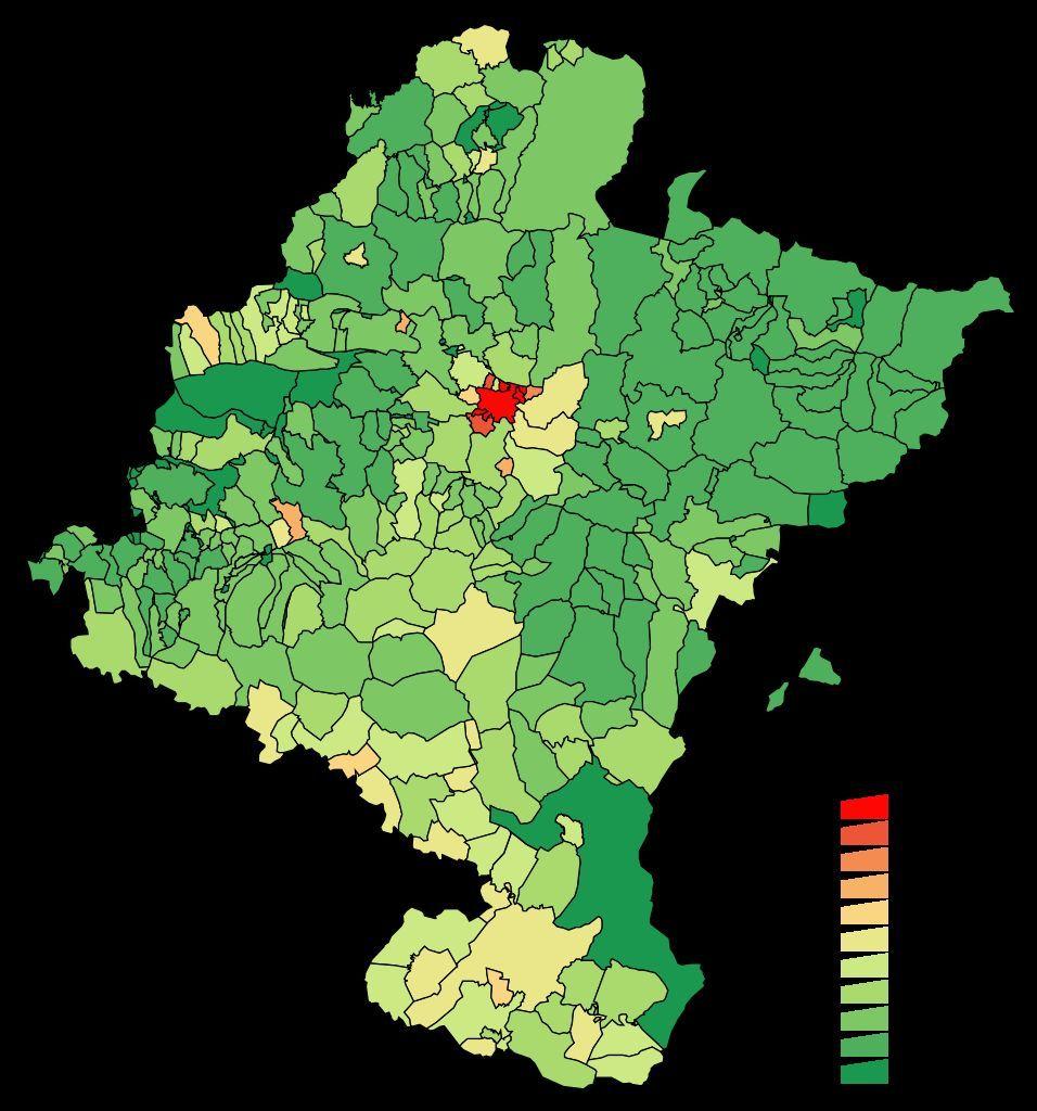 Vamos con algo menos solemne. ¿Cuántos habitantes crees que tiene Navarra?