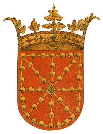 Las cadenas y la esmeralda del escudo de Navarra son las que llevó a Navarra el rey Sancho VII el Fuerte tras la victoria de...