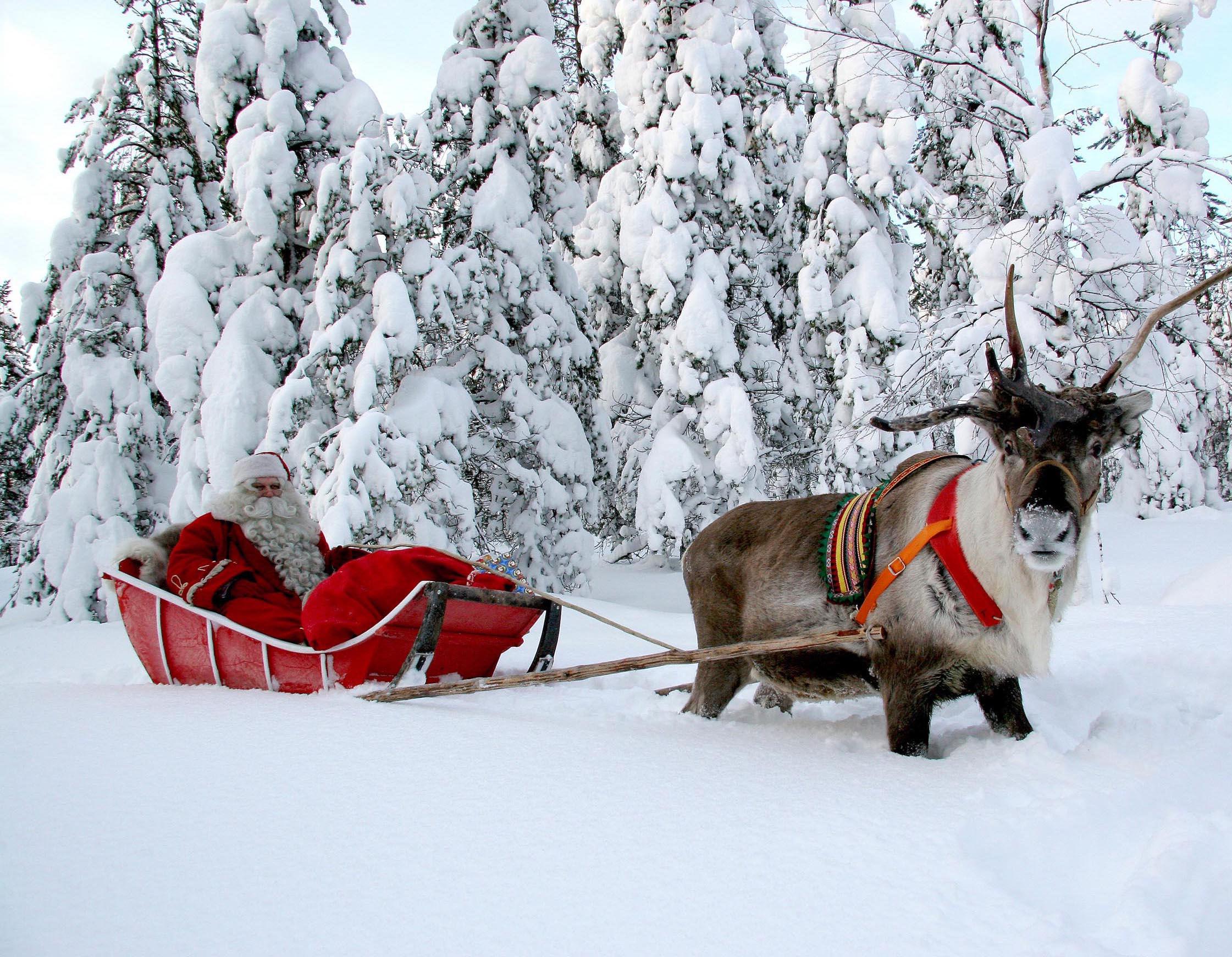 La región de Laponia se extiende por cuatro países, ¿pero en que país se encuentra realmente la casa de Papá Noel?