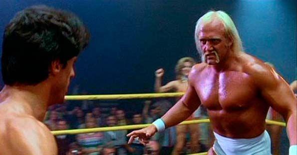 ¿En qué secuela de Rocky hace una aparición el entonces luchador de lucha libre Hulk Hogan?
