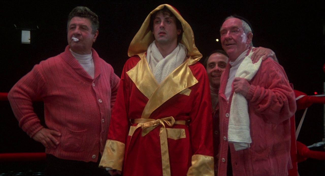 ¿De qué año data la primera película de Rocky?