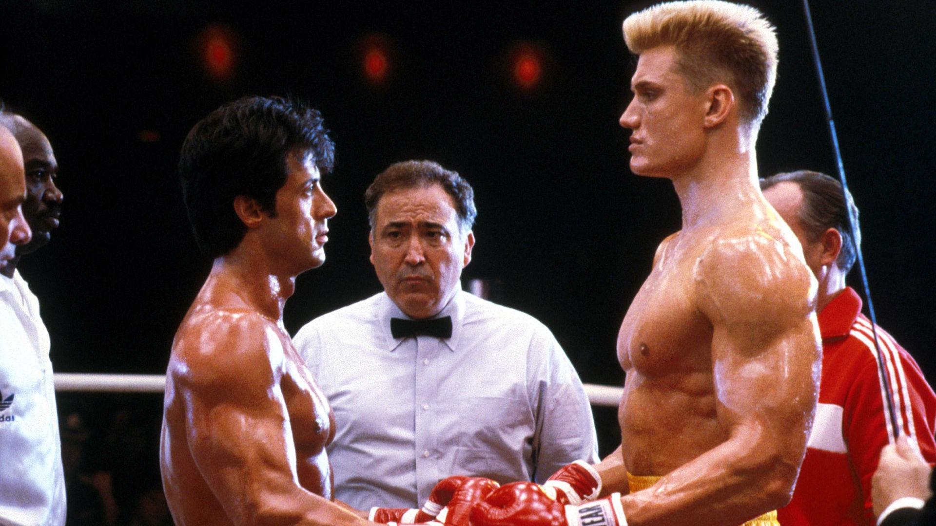 ¿Qué fecha se elige para que tenga lugar la pelea entre Rocky e Iván Drago?