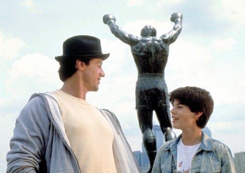 ¿Cómo se llama el único hijo de Rocky y Adrian?