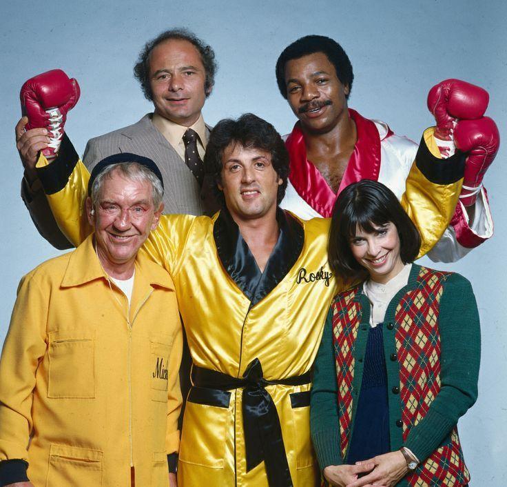 ¿Además de Rocky, qué dos personajes han aparecido desde la primera secuela de Rocky hasta Rocky Balboa/Rocky VI?