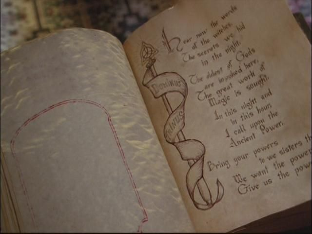 ¿Quién leyó el hechizo que dotó de Poderes a las hermanas Halliwell?