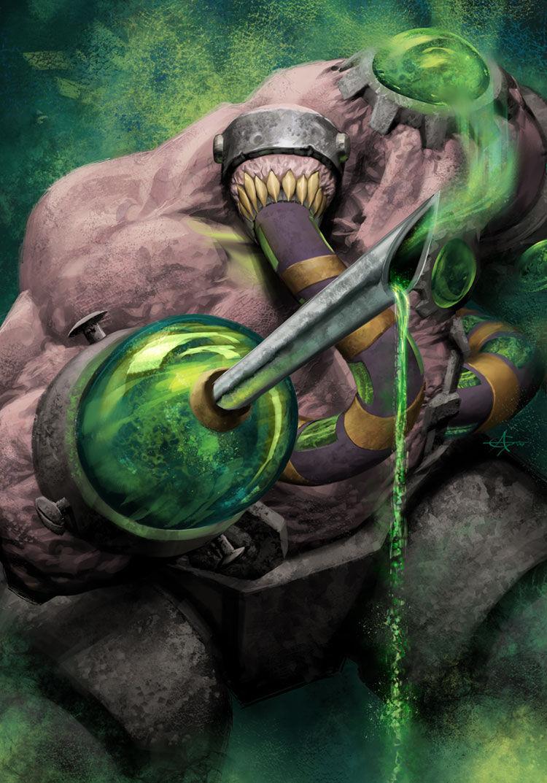 En heroico Grobbulus es uno de los bosses más difíciles, ¿que hace su poder de héroe?