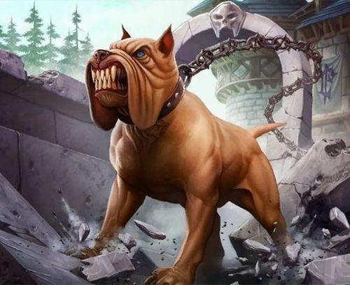 ¿Qué hacía la primera versión de la carta 'Soltar a los perros' (unleash the hounds)?