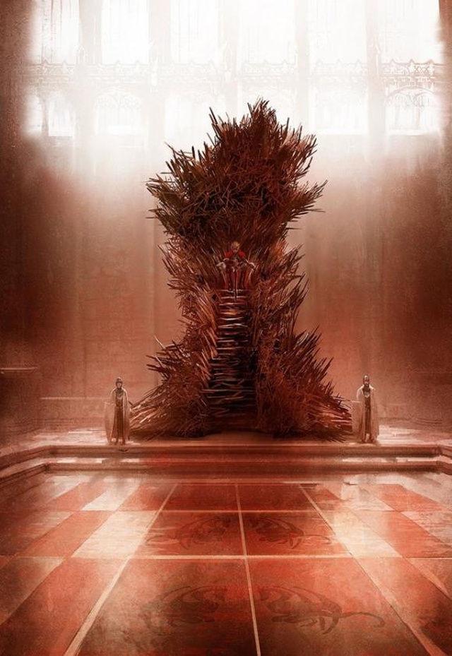 ¿Cuántas espadas forman el Trono de Hierro?