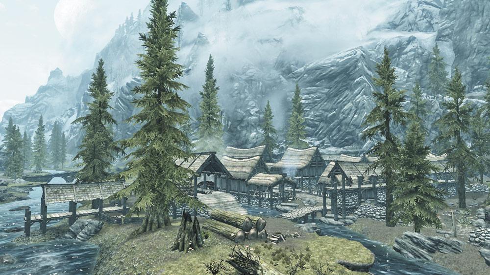 Has llegado a una pequeña pero próspera aldea, ¿Que será lo primero que hagas?