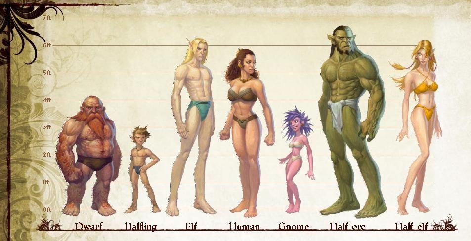 Si fueses una raza de fantasía,¿qué serías?