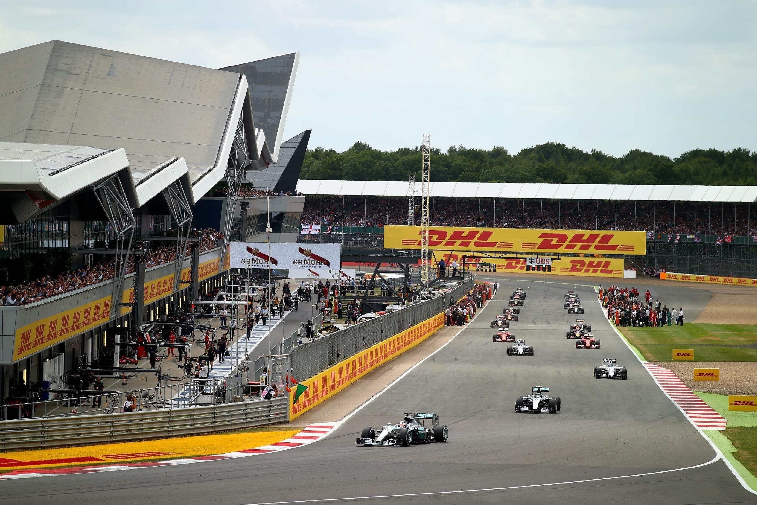 ¿En qué circuitos se ha disputado el Gran Premio de Gran Bretaña?