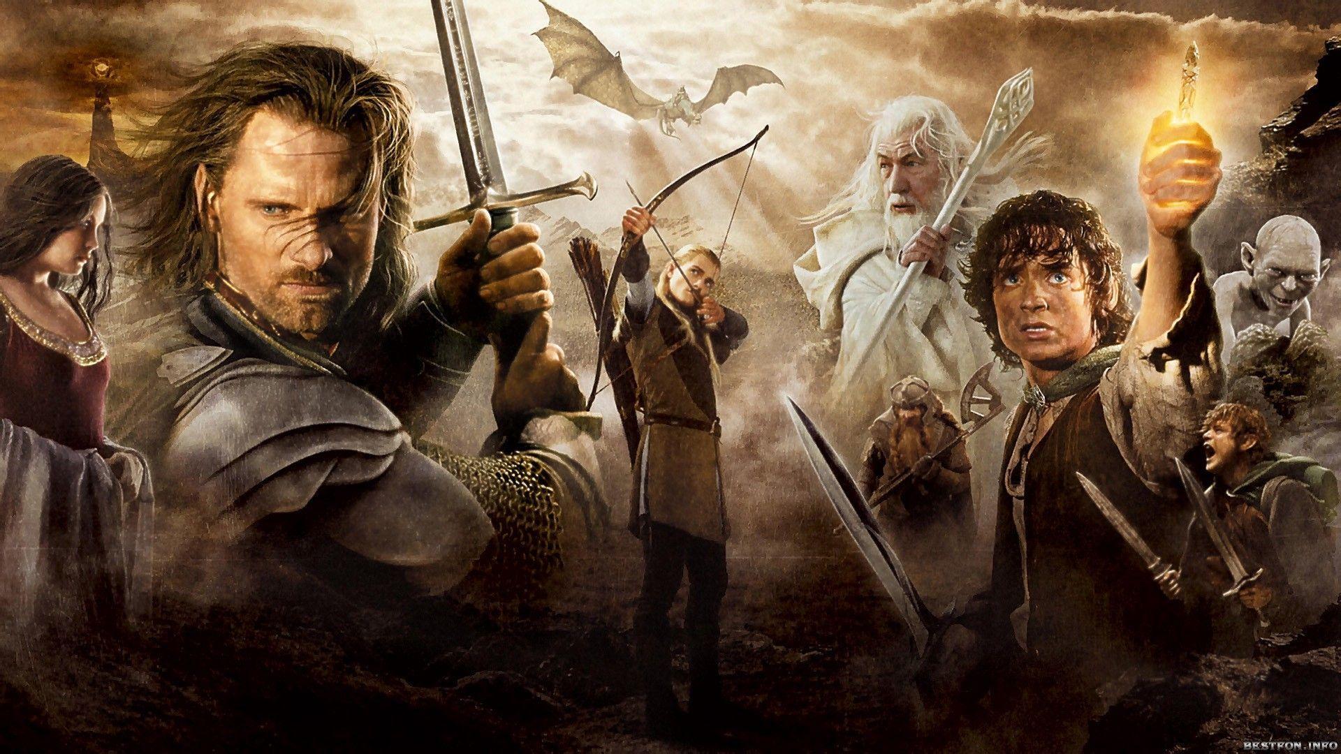 5158 - Actores de El Señor de los Anillos: El Retorno del Rey