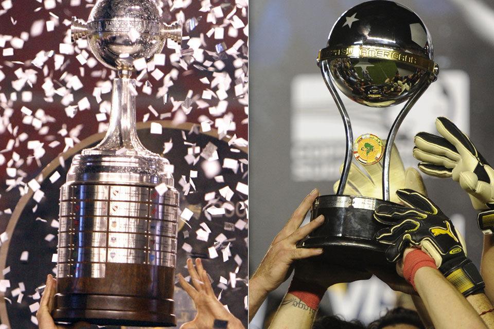 ¿En que año se disputó por primera vez la Copa Libertadores y la Sudamericana, respectivamente?