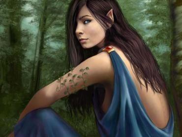 ¿Qué nombre le puso Beren a Lúthien?