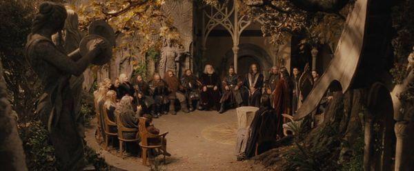 ¿Cuántas personas asistieron oficialmente al Concilio de Elrond?