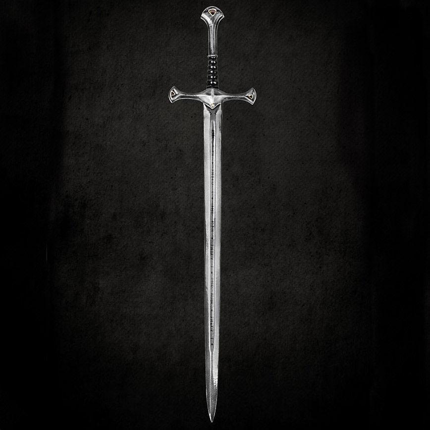 ¿Cómo se llama la espada de Aragorn?