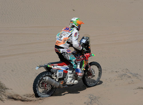 Laia Sanz consiguió el año pasado el record de mejor posición de una mujer en el Dakar. ¿En qué puesto terminó?