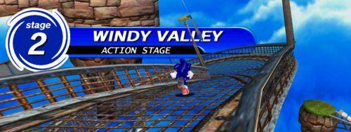 En Sonic Adventure, en la última parte del nivel de Windy Valley, se escucha una música de los juegos viejos. ¿De cuál es?