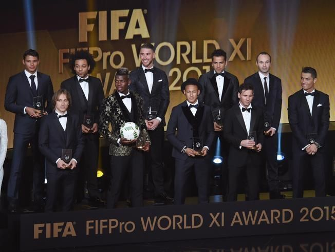 ¿El FIFA FIFPro World XI?