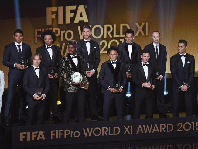 ¿El FIFA FIFPro World XI?