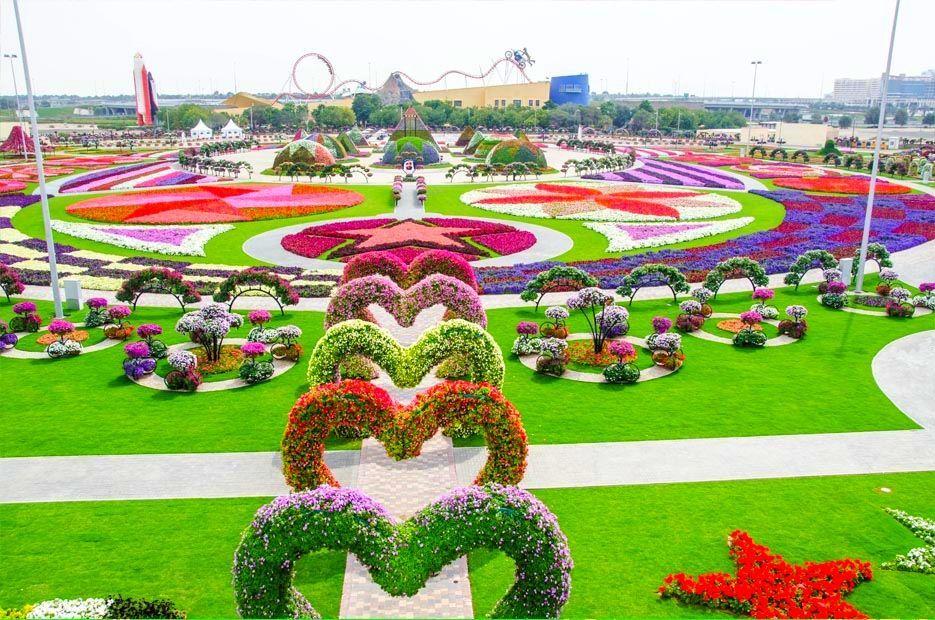 El jardín más grande y florido del mundo se encuentra en...