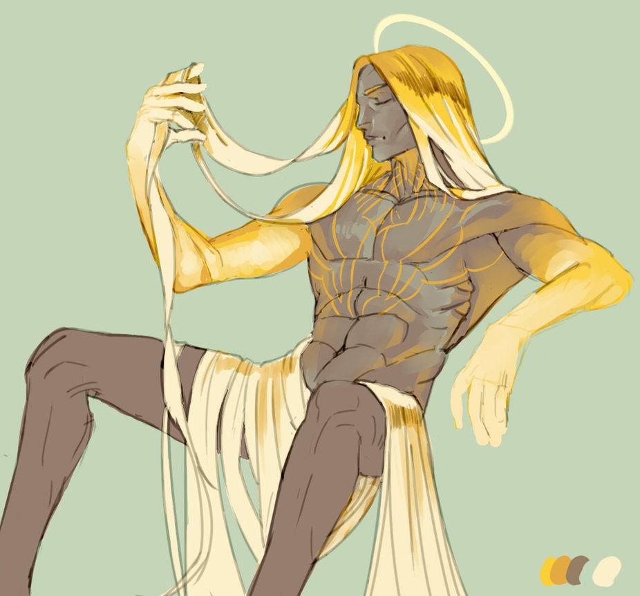 ¿ Cómo se llama el diós creador de Arda?