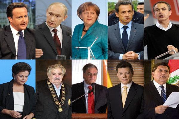 5447 - Presidentes del mundo, ¿Los conoces a todos?