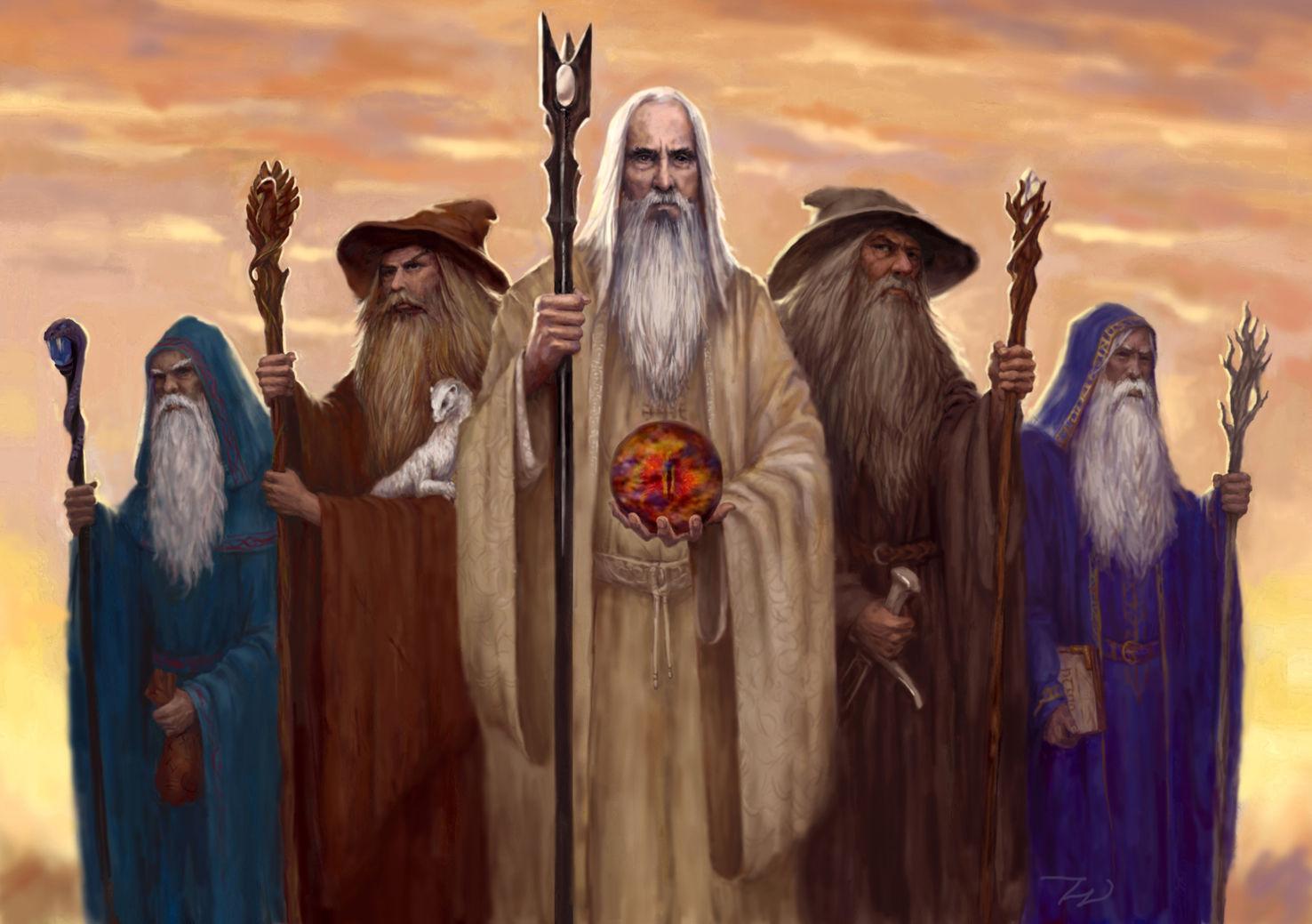 ¿ A qué raza pertenecen los Istari(magos)?