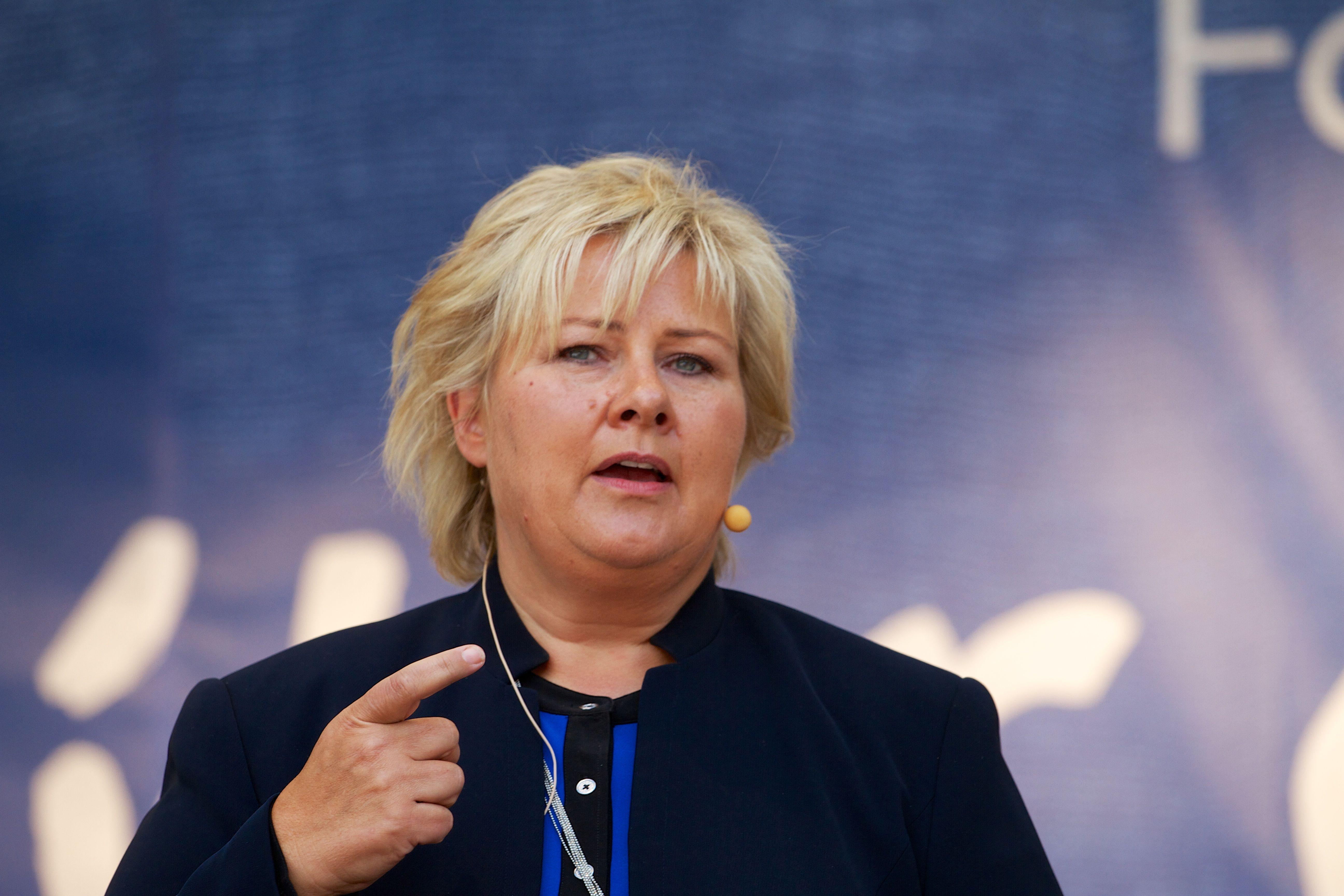 ¿A qué país gobierna Erna Solberg?