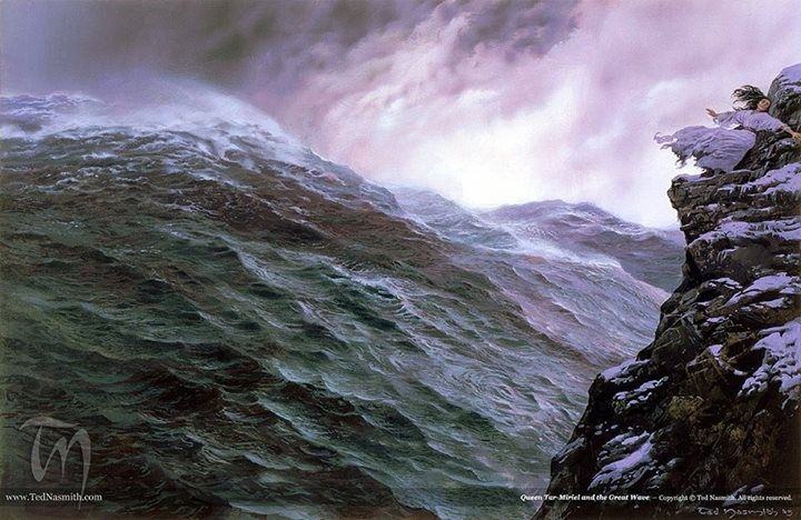 ¿ Qué causó el hundimiento de Númenor?