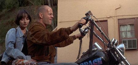 ¿De quién es la moto que roba Butch?