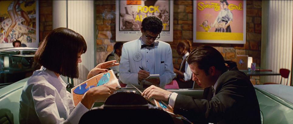¿Qué pide Vincent en el JackRabbit Slim's?